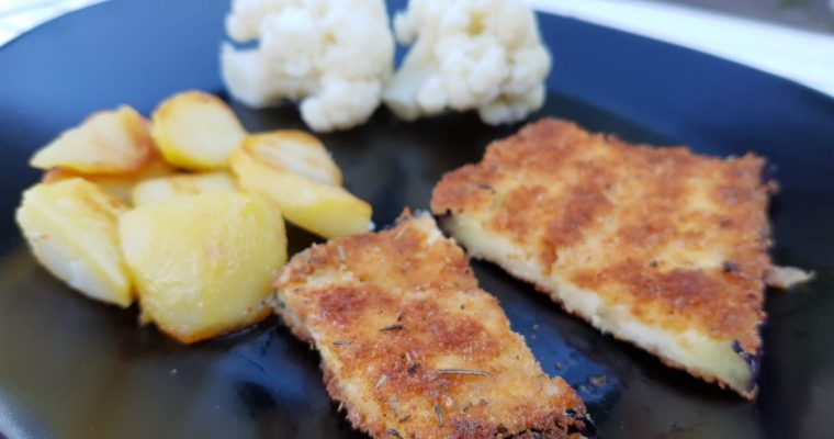 Aubergine schnitzels