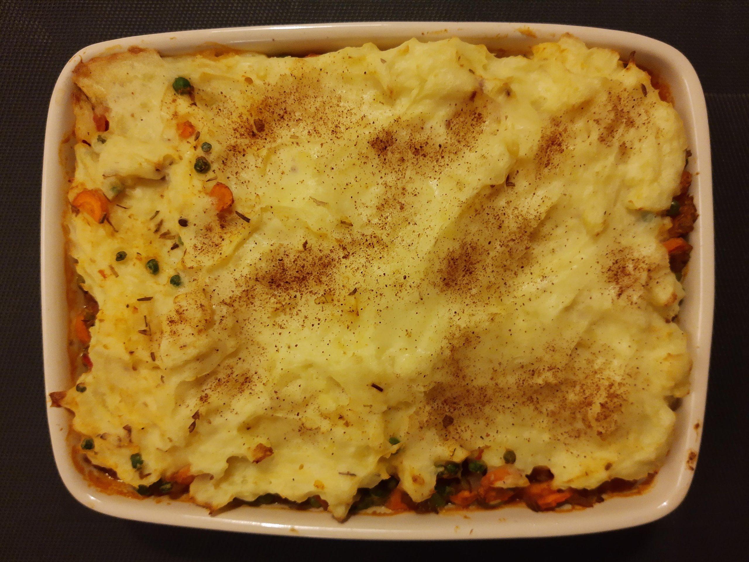 Vegetarische Shepherd's Pie