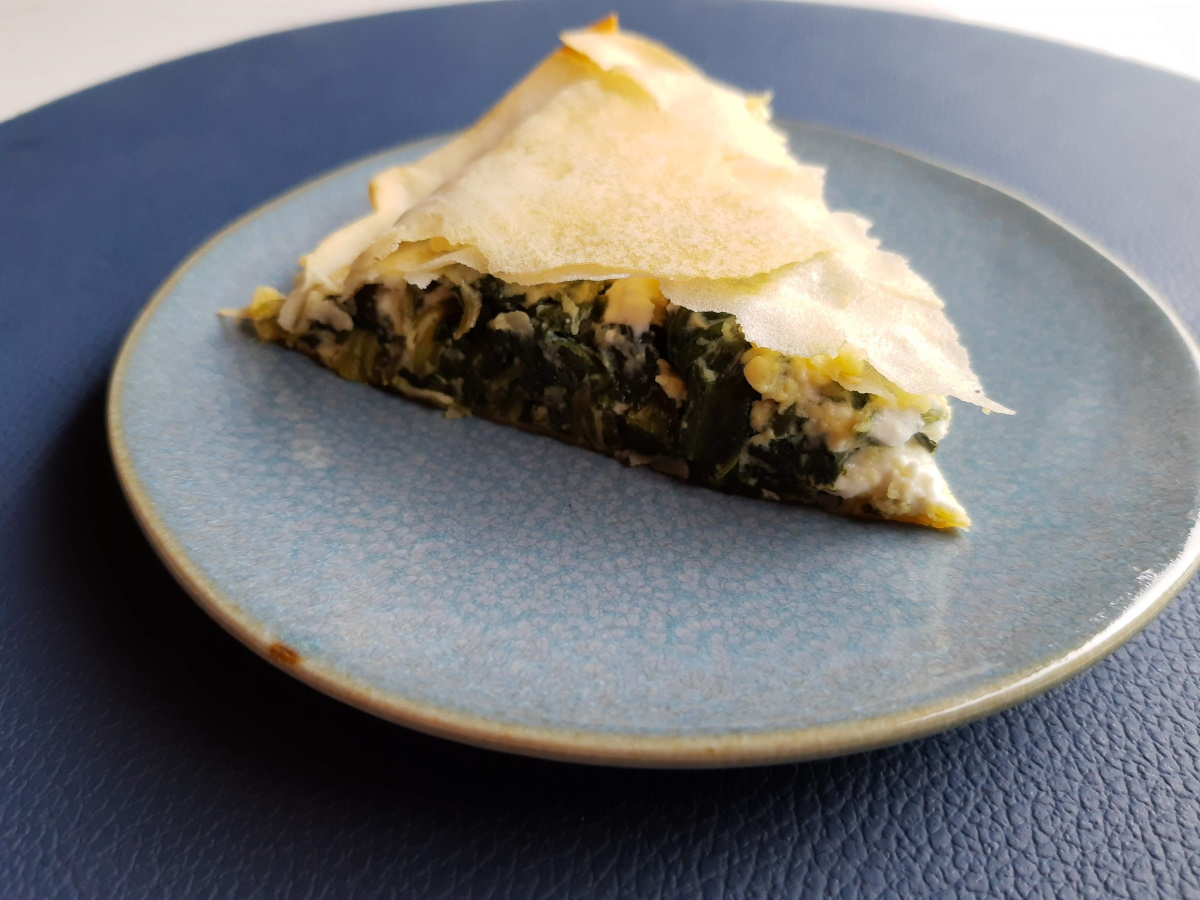 Spanakopita (spinazietaart met feta)